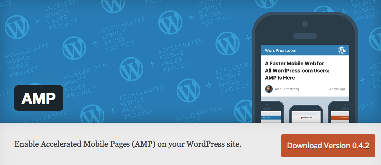 Image of AMP WordPress plug-in