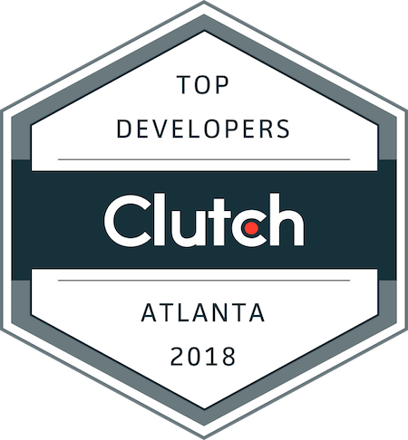 badge for top development companies in atlanta