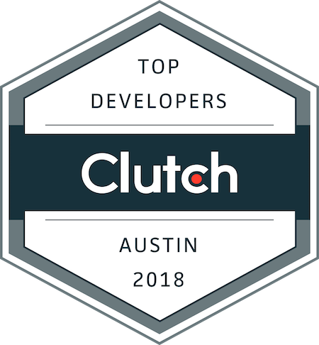 badge for top development companies in austin, texas