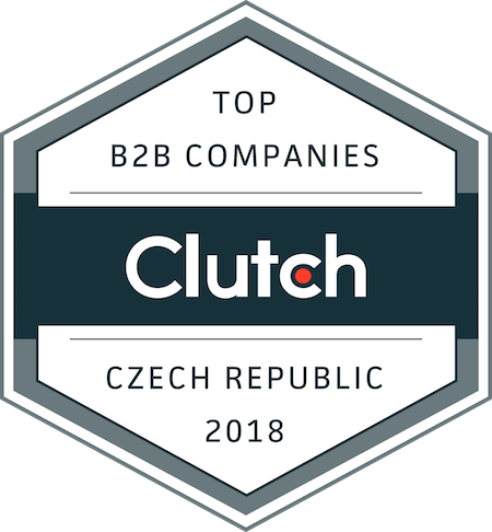 badge for top B2B companies in czech republic in 2018