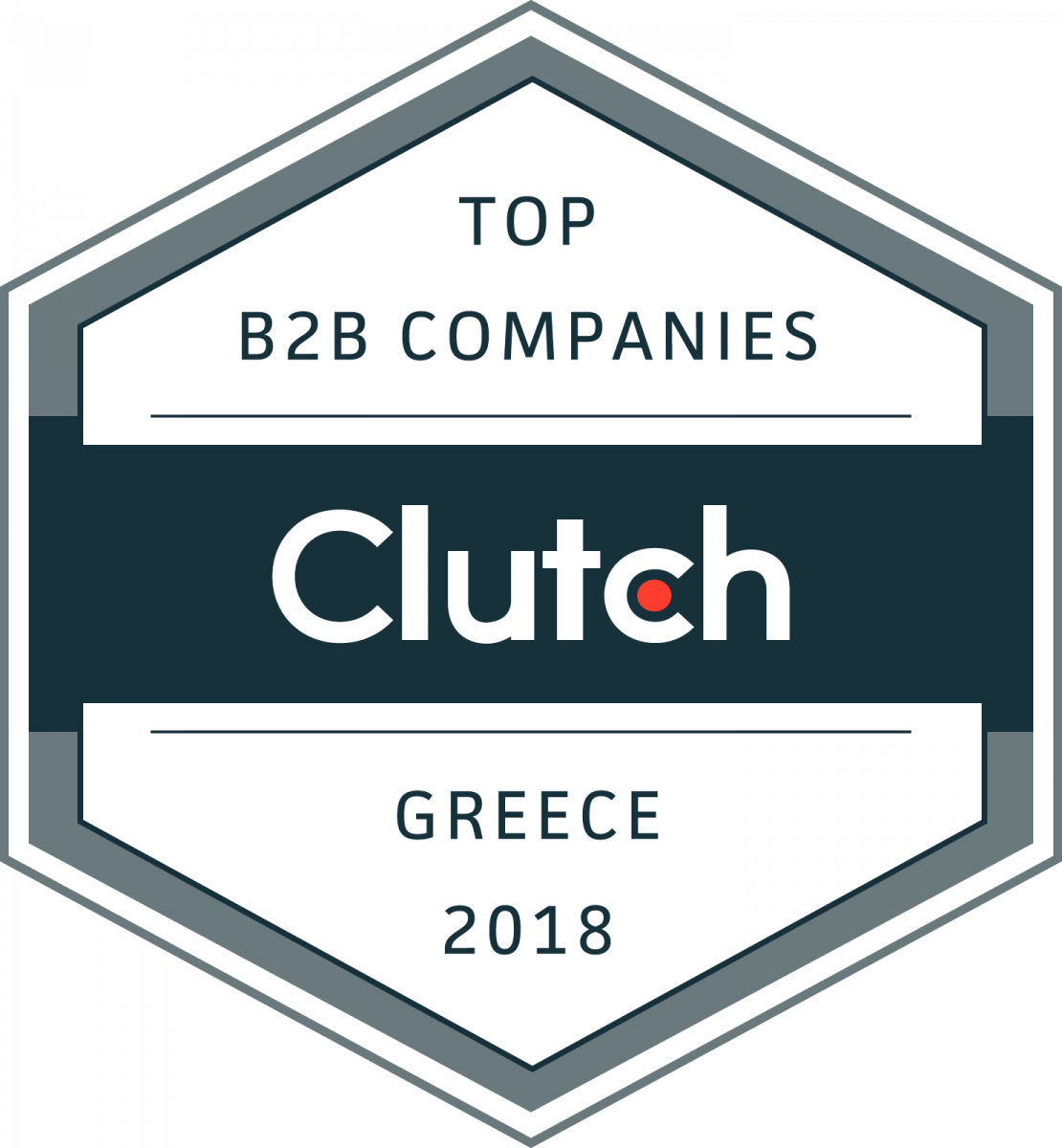 Top B2b Companies Greece Badge
