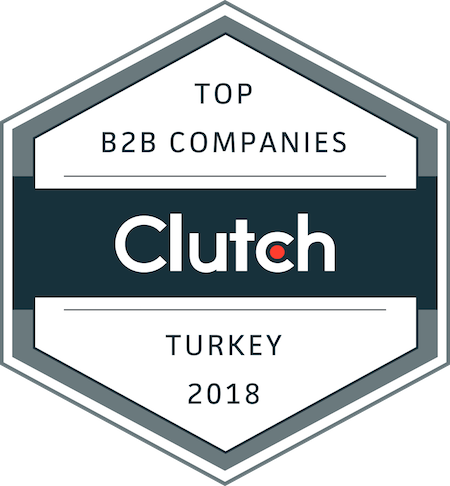 badge for best business service providers in turkey in 2018