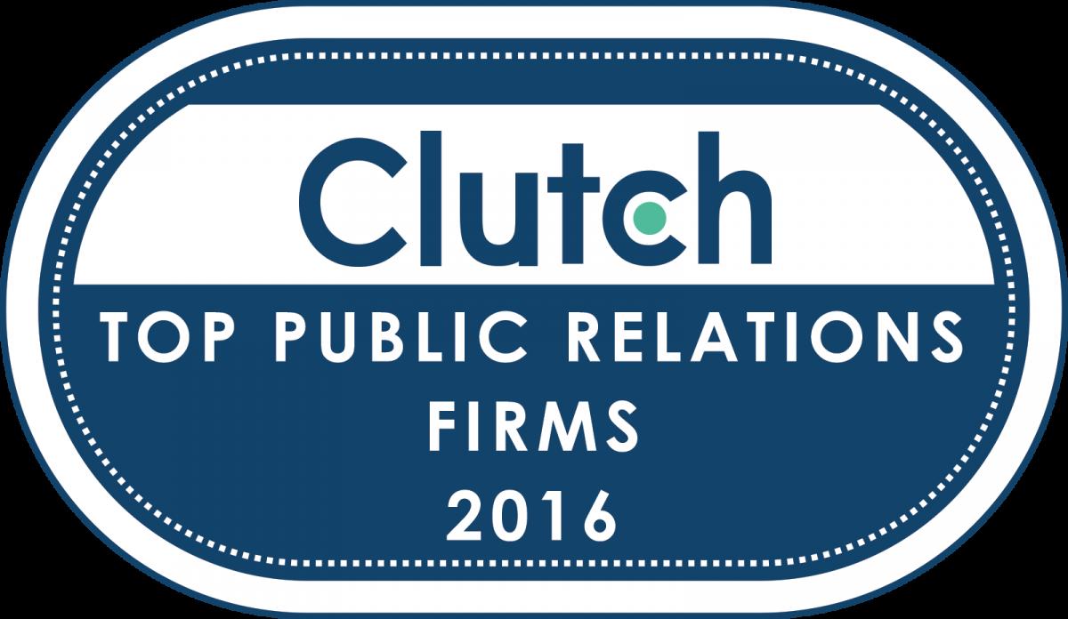 Clutch Identifies Top Public Relations Firms of 2016 | Clutch co