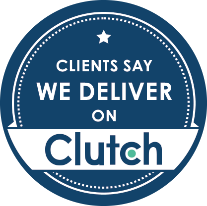 clutch clients say we deliver badge