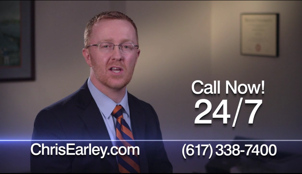 Chris Earley TV commercial