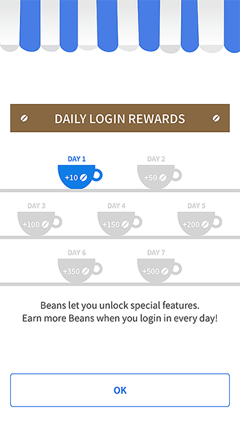 Coffee Meets Bagel app onboarding process