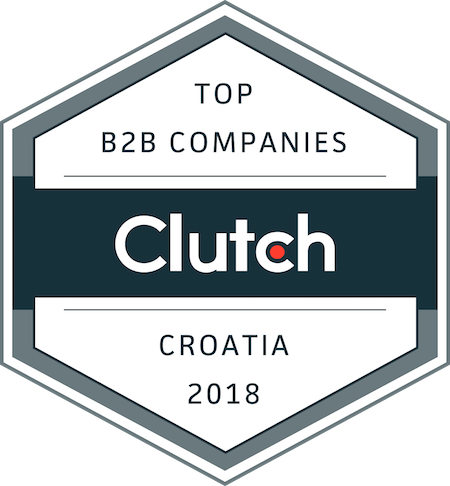 badge for best business service providers in croatia in 2018