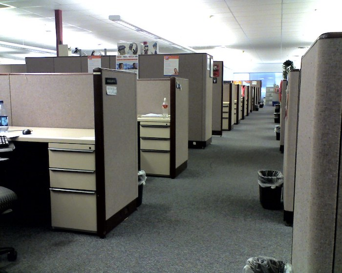 Cubicle layout office