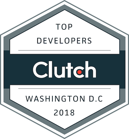 badge for top development companies in washington, dc