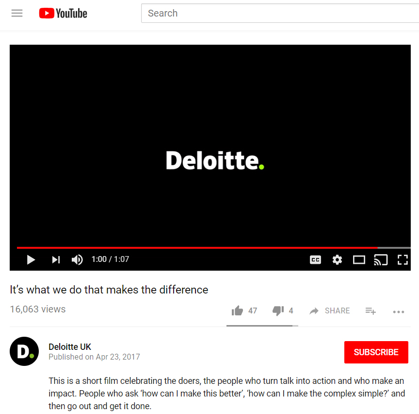 Deloitte video