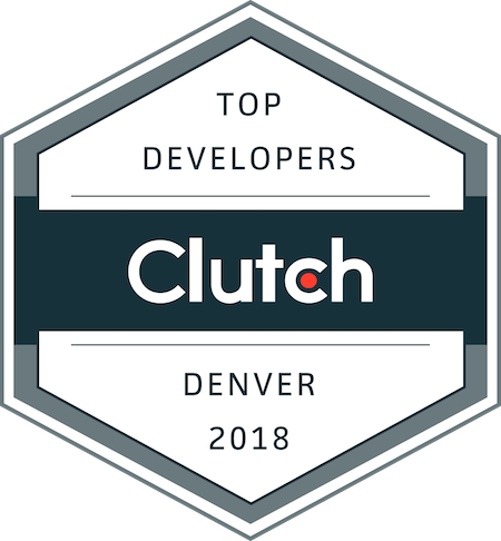 badge for top development companies in denver