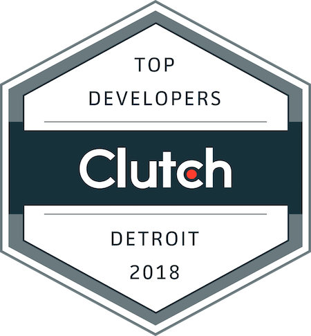 badge for top development companies in detroit in 2018