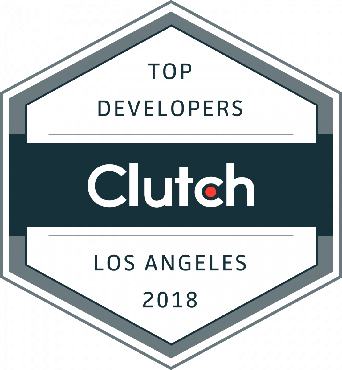 Top Developers Los Angeles Badge 2018