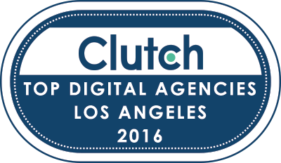 Top Los Angeles Digital Agencies Badge