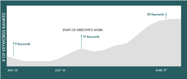 Directive Consulting Case Study Keyword Results