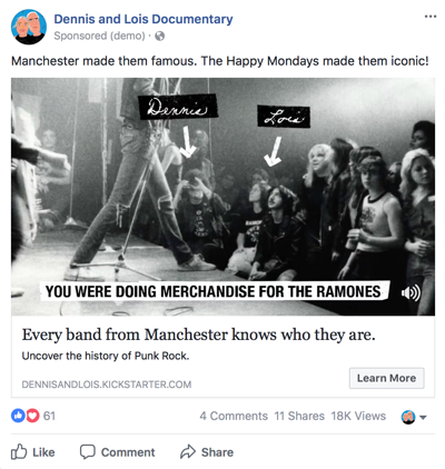 Facebook ad - revised