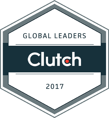 Clutch Global Leaders 2017 Badge