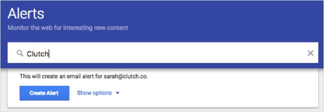 Google alerts is a basic form of social listening
