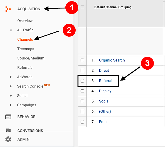 tracking non-social referral traffic in google analytics