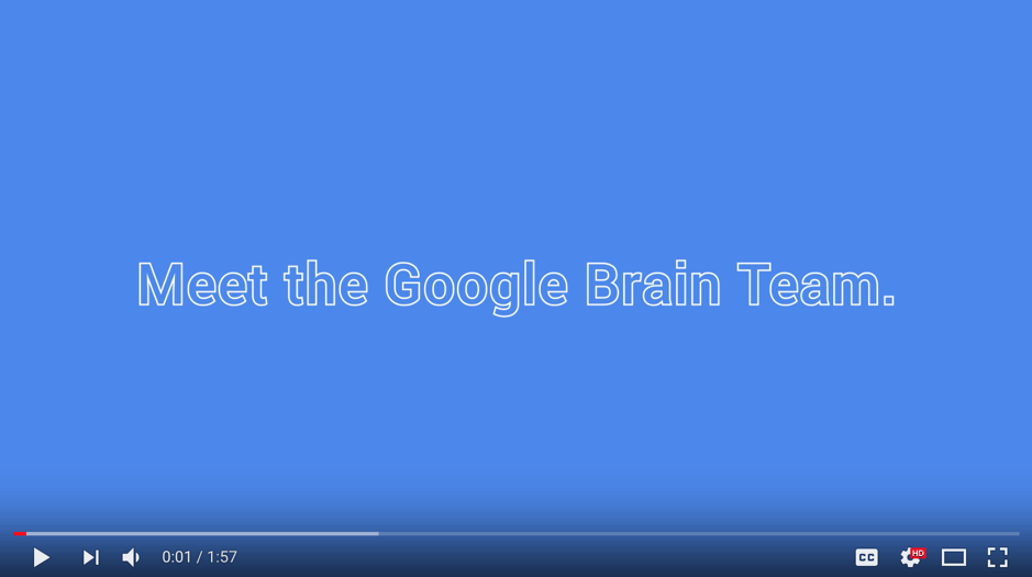 "Google video: ""Meet our machine learning makers"""