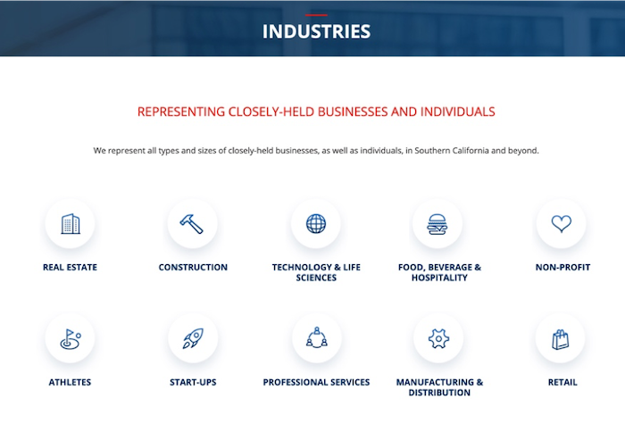 Industry Page