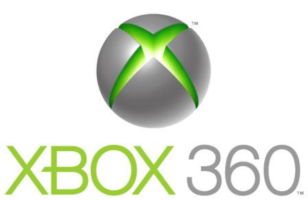 "The XBOX 360 logo uses 3D elements to create a visual that ""pops out"" at viewers"