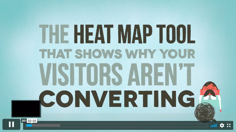 Crazyegg is a heat map tool that helps businesses understand why their website visitors aren't converting.