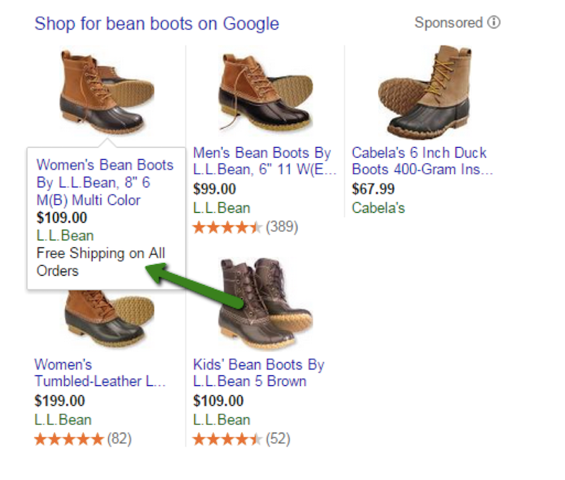 "A simple search on Google for ""bean boots"" will turn up several results."