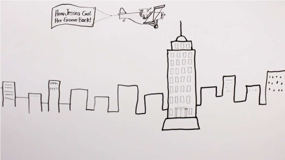 Work.com (Rypple) created an animated whiteboard video to explain how it could help professionals.