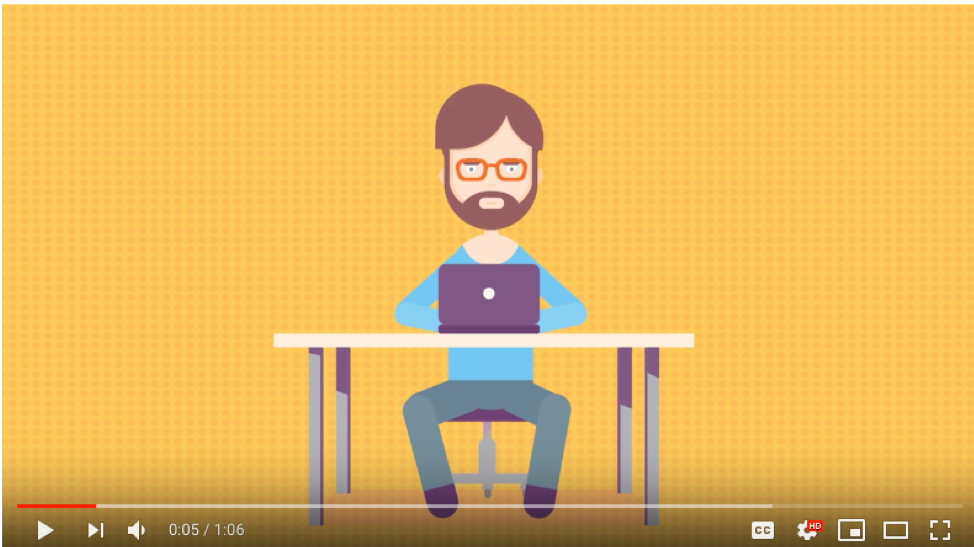 Hound Studio made an animated explainer video about animated explainer videos.