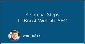 4 Crucial Steps to Boost Website SEO