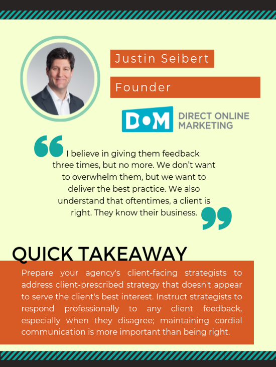 justin seibert founder direct online marketing quotes