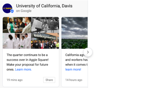 UC Davis GMB