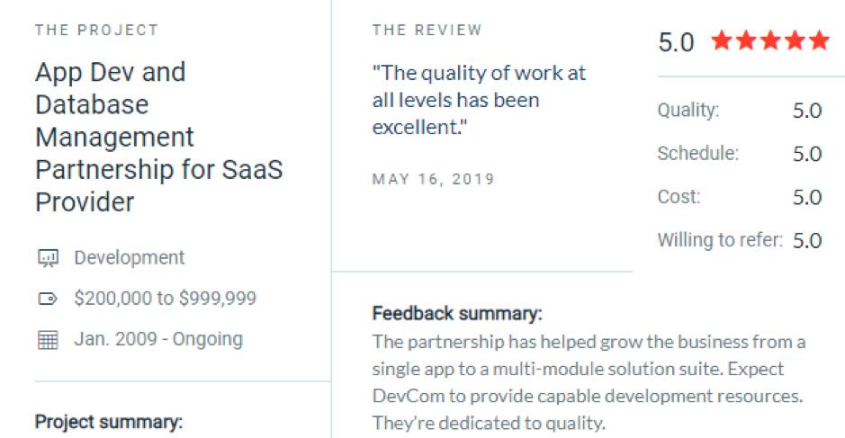 dev com review