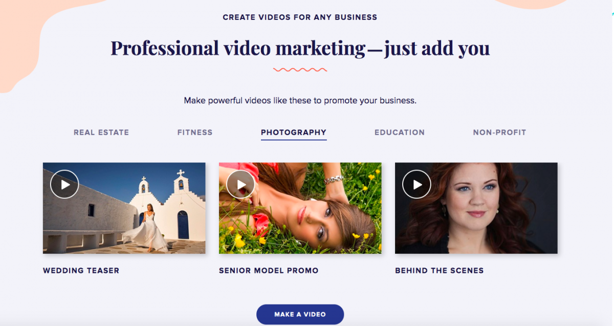 Animoto Video Templates