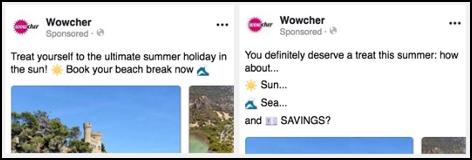 Wowcher AI and Human Posts