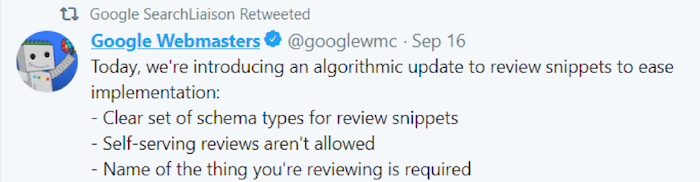 Google rich results updates