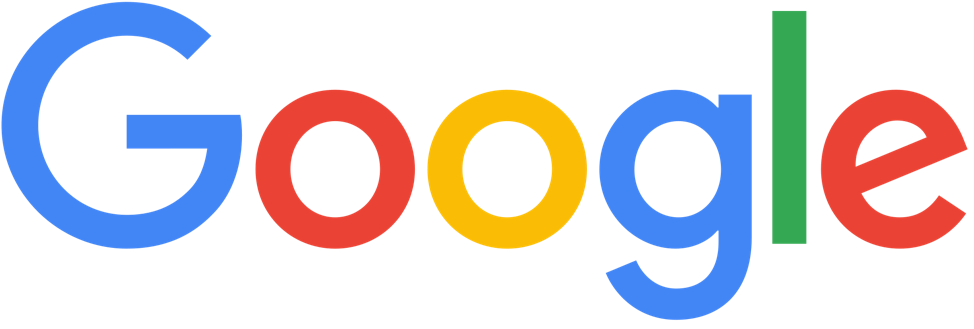 Google is one of the world's most recognizable logos that uses bold colors