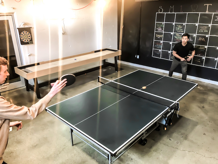 Coworking pingpong