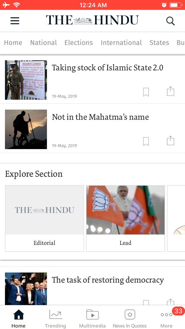 The Hindu Magazine
