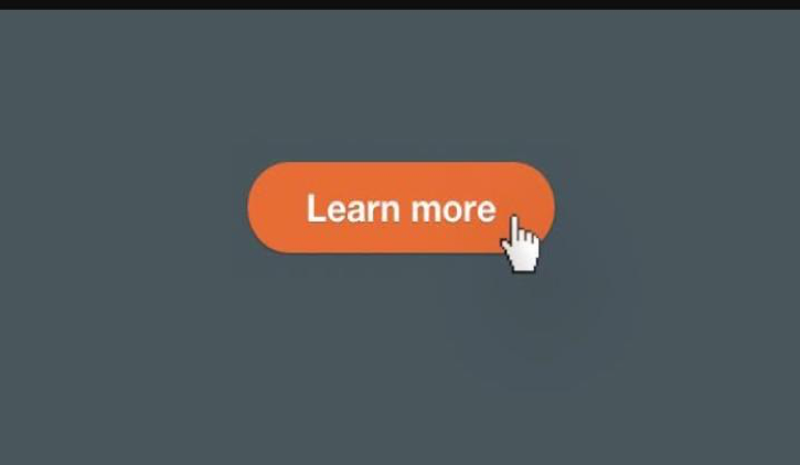 orange call to action button on gray background