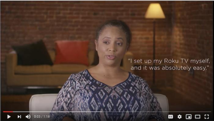 Roku TV testimonial video