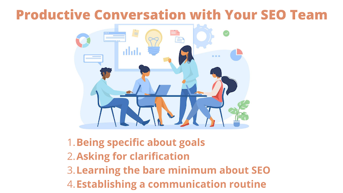 Productive Conversation with your SEO team
