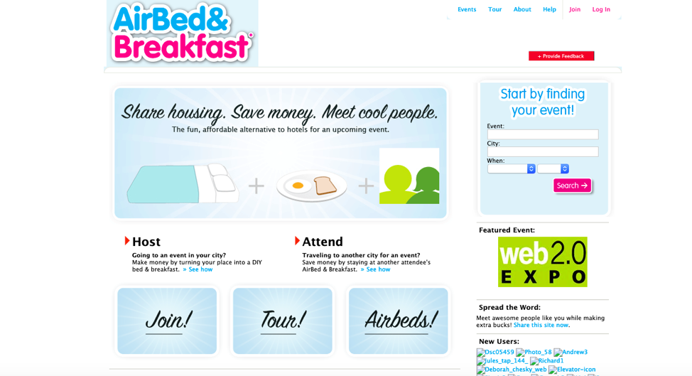 AirBed & Breakfast 2008