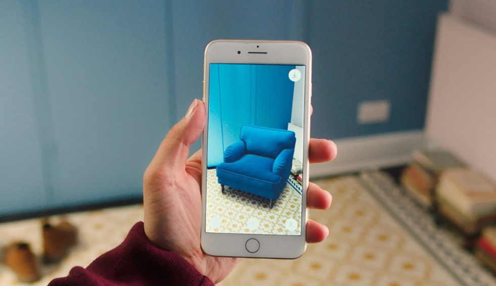 IKEA uses AR to help customers shop.