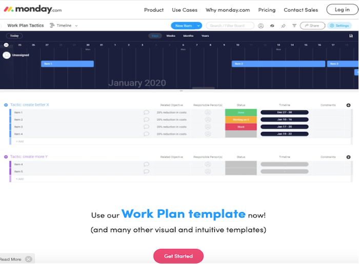 Use your Workplate template now