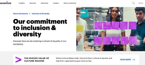 accenture diversity initiative