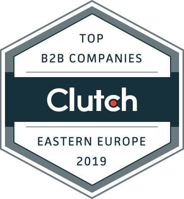 Top B2B Companies Eastern Europe Clutch Award