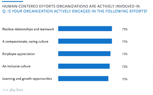 Human Centered Efforts in Organizations