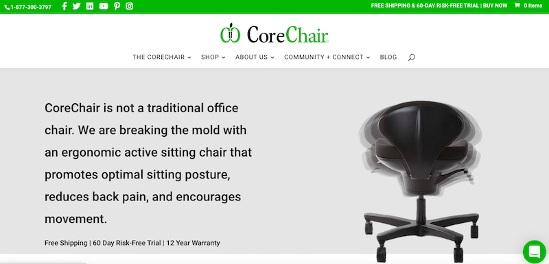 corechair website